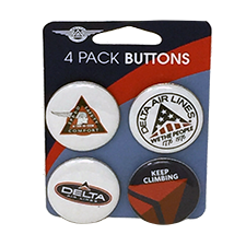 "Carded Buttons - 3""x4"" 4-Pack - 1.25"" Buttons Thumbnail"